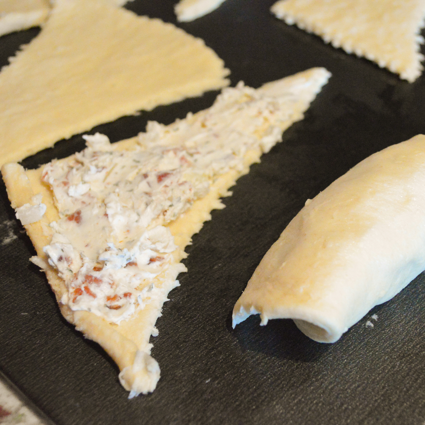 Cheese Crescent Triangles Recipes — Dishmaps
