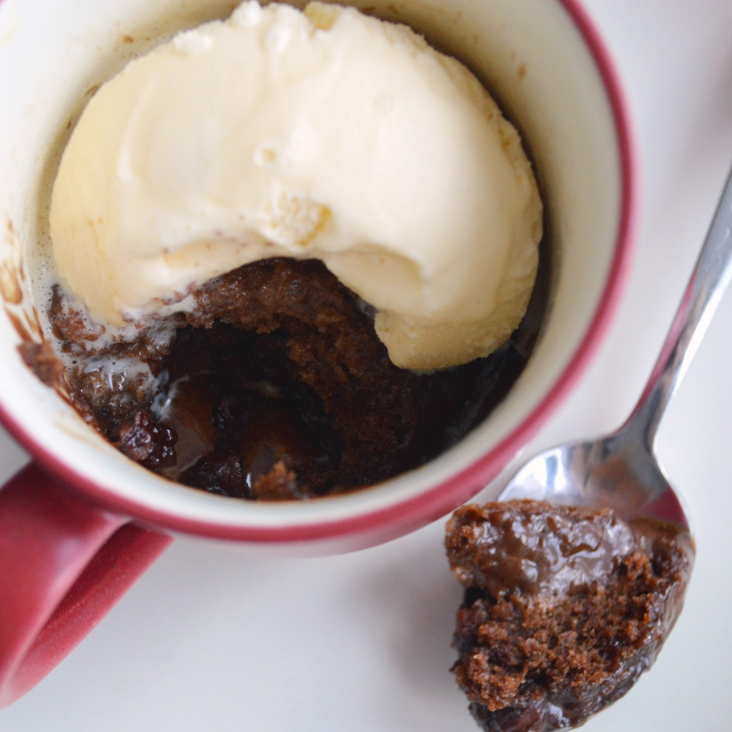 Chocolate Mug Cake No Egg No Cocoa Powder